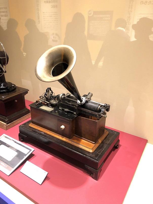 蓄音機 エジソン クラスM