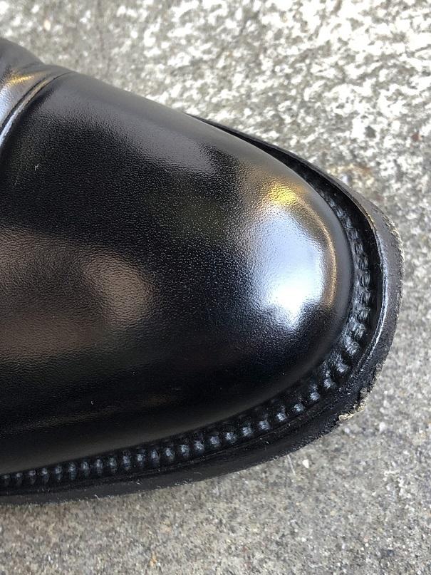 革靴 キズ補修