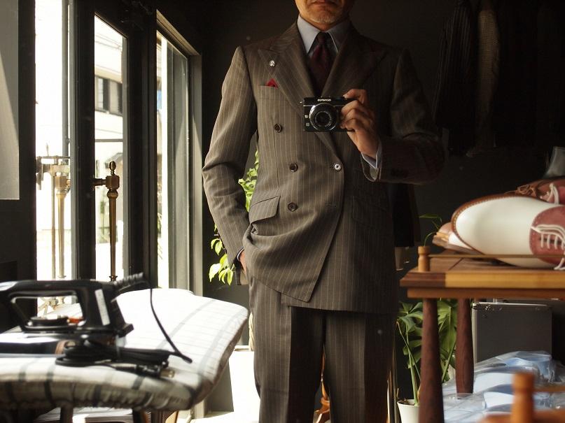 フィボナッチ紳士洋品店 オーダースーツ english silvern
