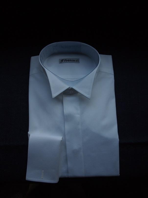 オーダーシャツ ウィングカラー 比翼