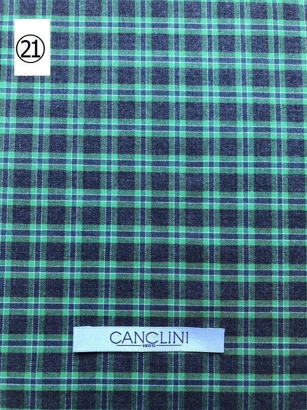 オーダーシャツフェア カンクリーニ CANCLINI