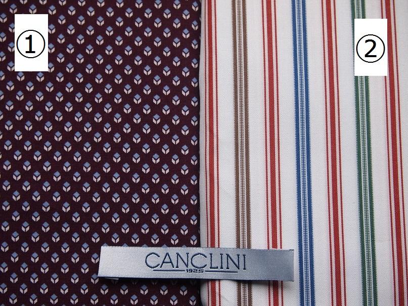 オーダーシャツ CANCLINI カンクリーニ