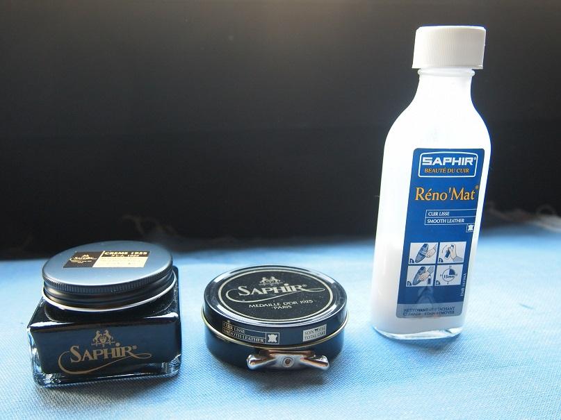 サフィール 油性クリーム 油性ワックス クリーナー