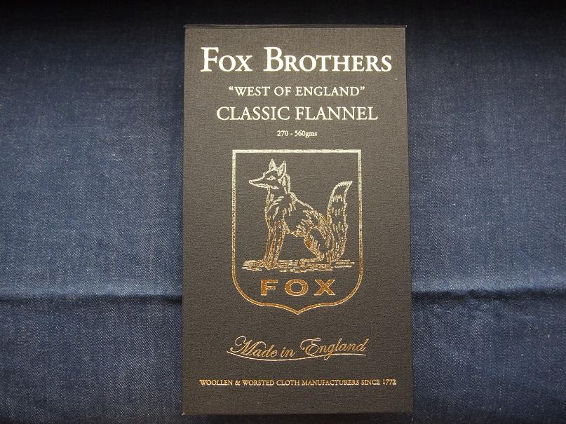 FOX BROTHERS フォックスブラザーズ CLASSIC FLANNEL フランネル