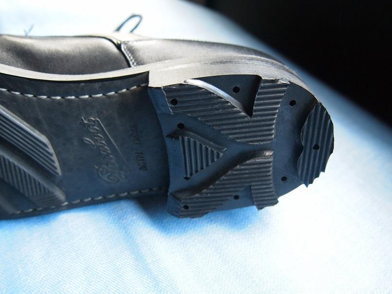 靴修理 シューリペア トップリフト交換 パラブーツ リッジウェイ