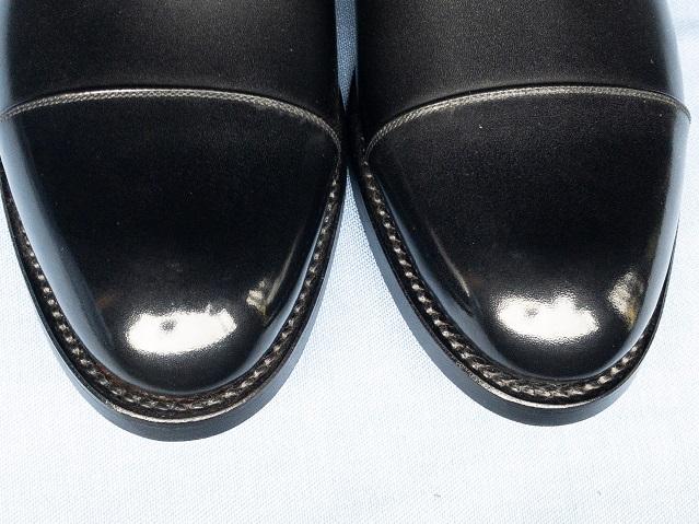 オーダーシューズ 宮城興業 靴磨き ハイシャイン 鏡面磨き