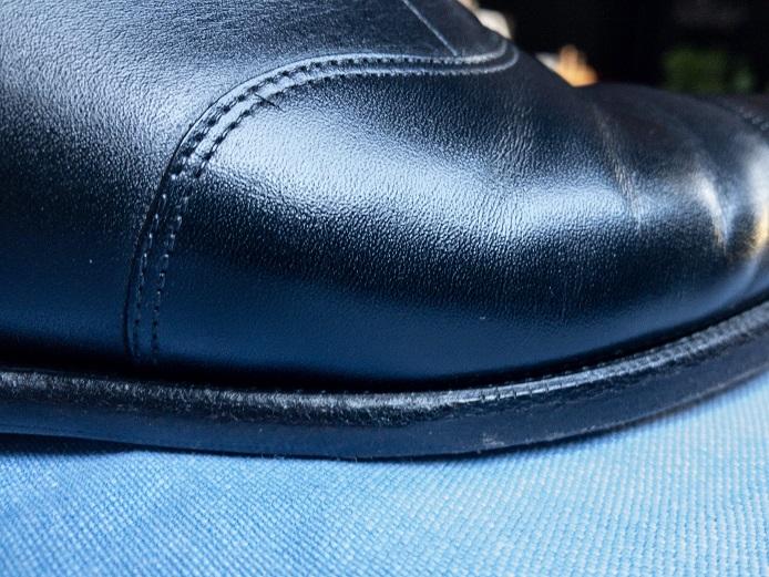 革靴 塩吹き