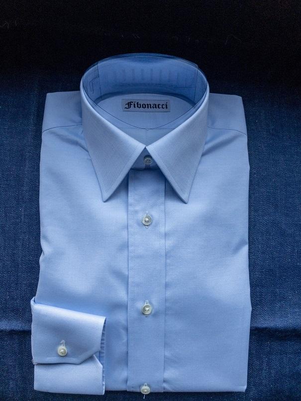 オーダーシャツ 透け軽減加工 スチュアートレギュラーカラー