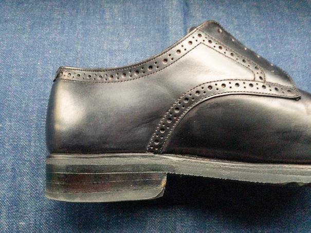 革靴 塩浮き 塩吹き