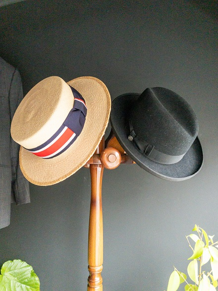 straw hat day homburg hat boater hat