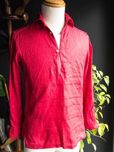 オーダーシャツ カプリシャツ リネンシャツ
