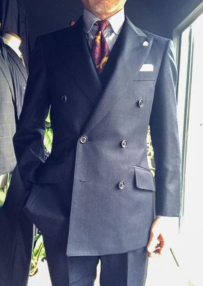 カノニコ covert cloth オーダースーツ
