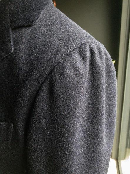 オーダーコート チェスターコート ローデンクロス マニカカミーチャ 雨降り袖