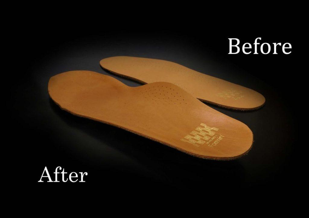 革靴インソール