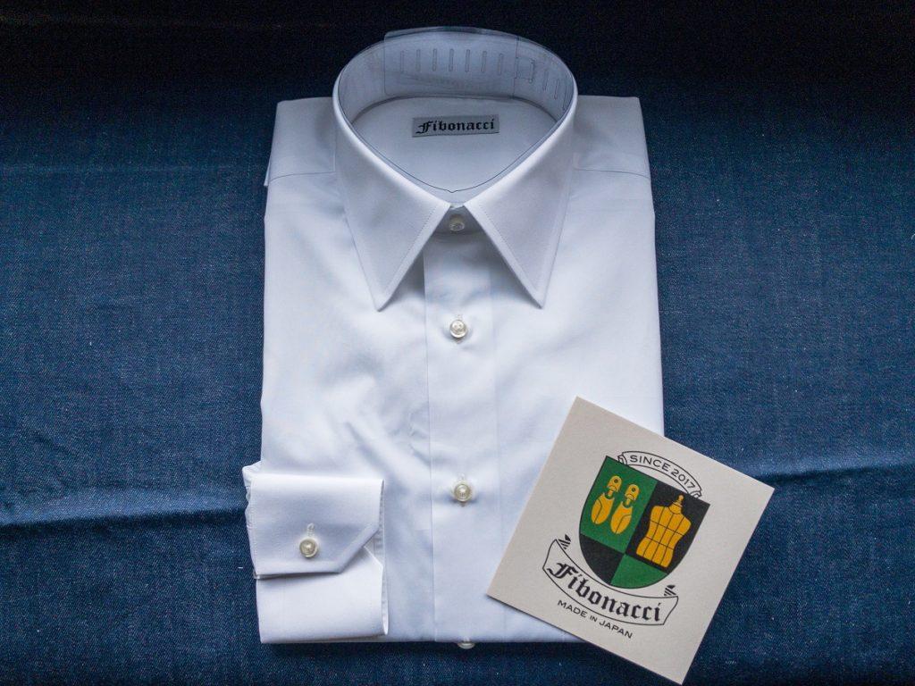 suvin cotton オーダーシャツ