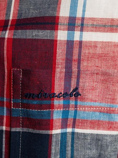 オーダーシャツ オーバーシャツ マドラスチェック miracolo