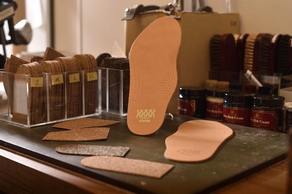 革靴用レザーインソール 中敷き 牛革