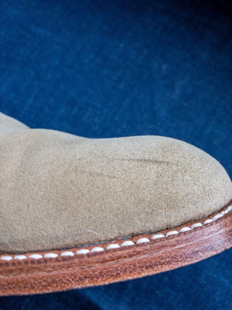 革靴 スエード 汚れ