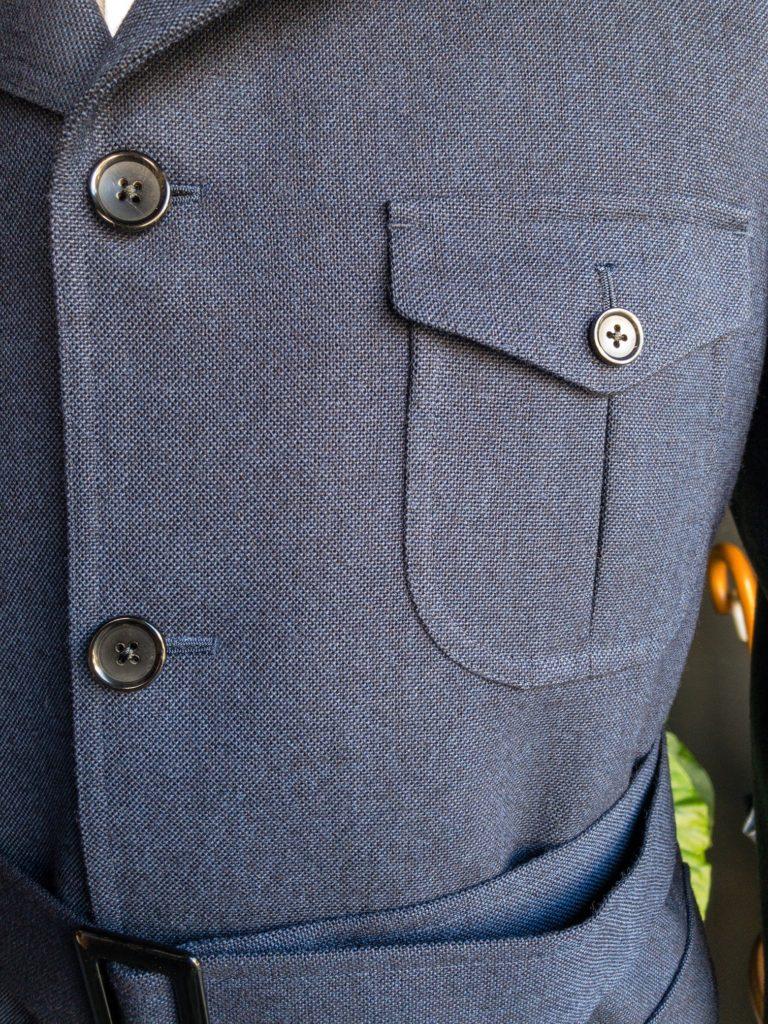 サファリジャケット オーダージャケット ドーメル スポーテックス