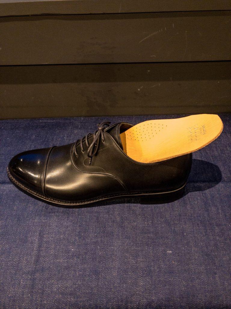 革靴 牛革 中敷き フォーミン